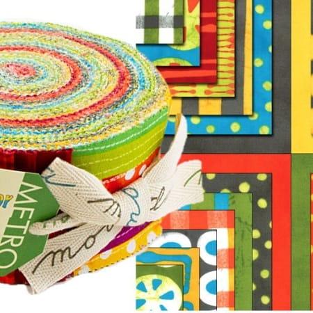 A Stitch in Color Moda Jelly Roll-0