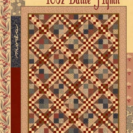 1862 Battle Hymn Quilt Pattern-0