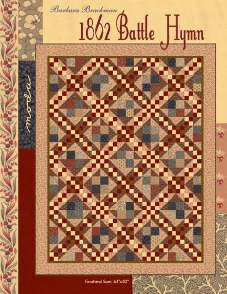 1862 Battle Hymn Quilt Pattern-0