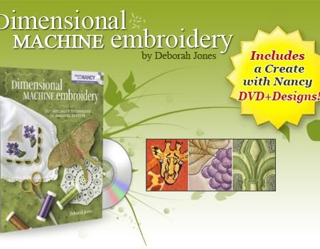 Dimensional Machine Embroidery-0