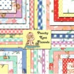 "Peachy Keen Flannels 5"" Charm Pack-0"