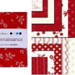 "Redwork Renaissance 5"" Charm Pack-0"