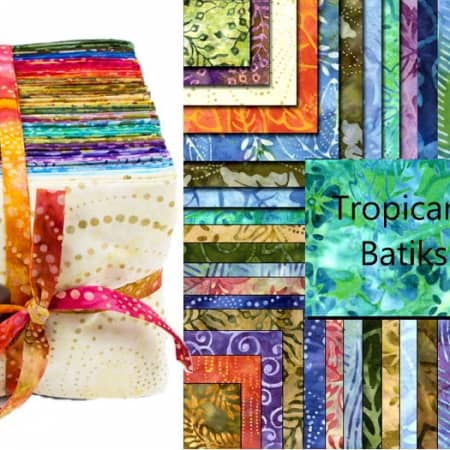 Tropicana Batiks Fat Eighth Bundle-0