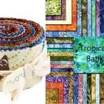 Tropicana Batiks Moda Jelly Roll-0