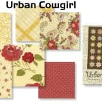 Urban Cowgirl Special Edition Fat Quarter Bundle + FREE PATTERN-0