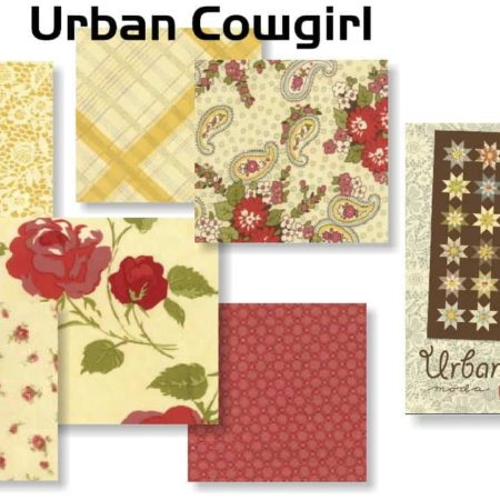 Urban Cowgirl Special Edition Fat Quarter Bundle + FREE PATTERN-0