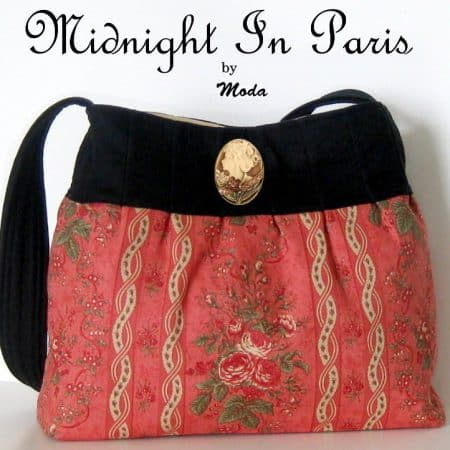 Midnight In Paris Bag / Purse Kit-0