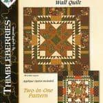 Harvest Wreath & Pumpkin Spice Quilt Pattern Booklet-0