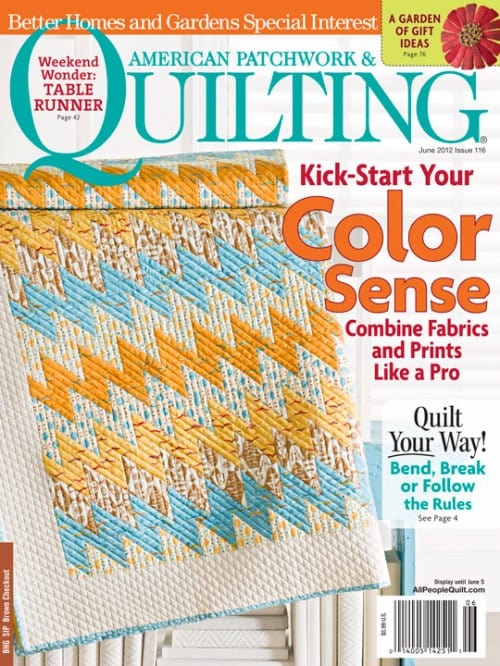American Patchwork & Quilting FREE with any 3 magazine or book purchases!-0