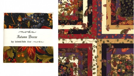 "Autumn Breeze 5"" Charm Pack-0"