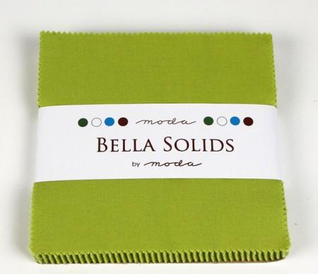 """Moda Bella Solids CHARTRE - 5"""" Charm Pack-0"""