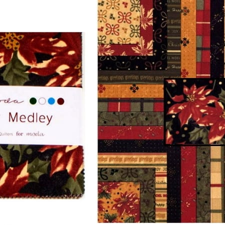 """Holiday Medley 5"""" Charm Pack-0"""