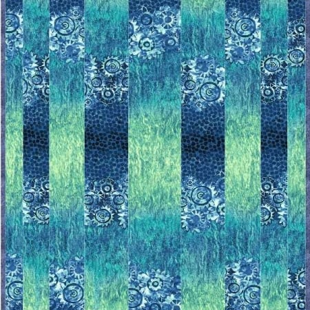 Tidal Stripes Quilt Kit -0