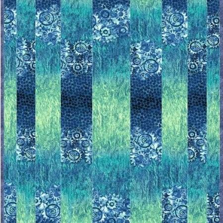 Tidal Stripes Quilt Kit -0