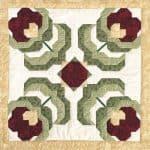 Baltimore Poppy Block Pattern-0