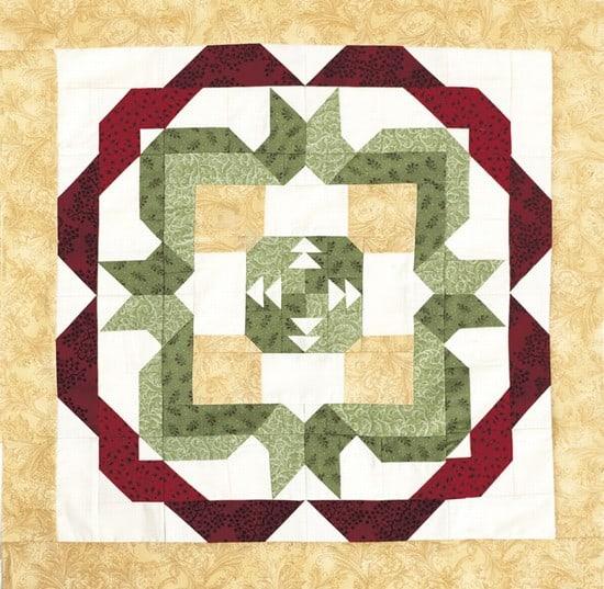 Pineapple Block Pattern-0