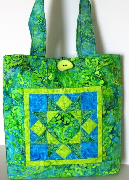 Bali Patchwork Tote II - Purse / Bag Kit-0