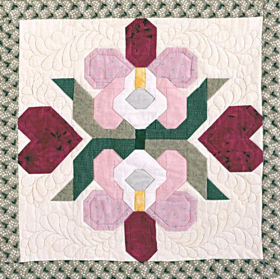 Orchid Block Pattern-0