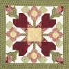Baltimore Roses Block Pattern-0