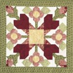 Baltimore Roses Block Pattern-0