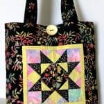Bali Patchwork Tote I - Purse / Bag Kit-0