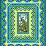 Peacock Paradise Quilt Kit -0