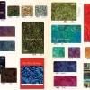 Tidepool Batiks Fat Quarter Bundle -13188