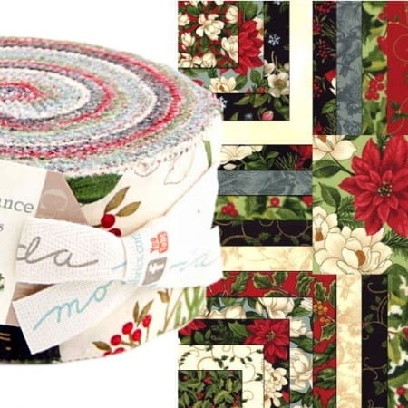 Winter Elegance Moda Jelly Roll-0