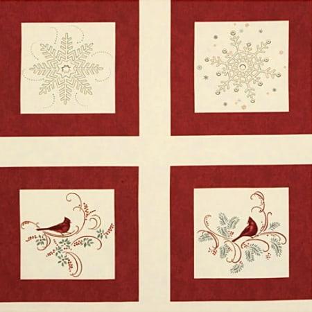 Christmas Spirit Panel - Cream-0