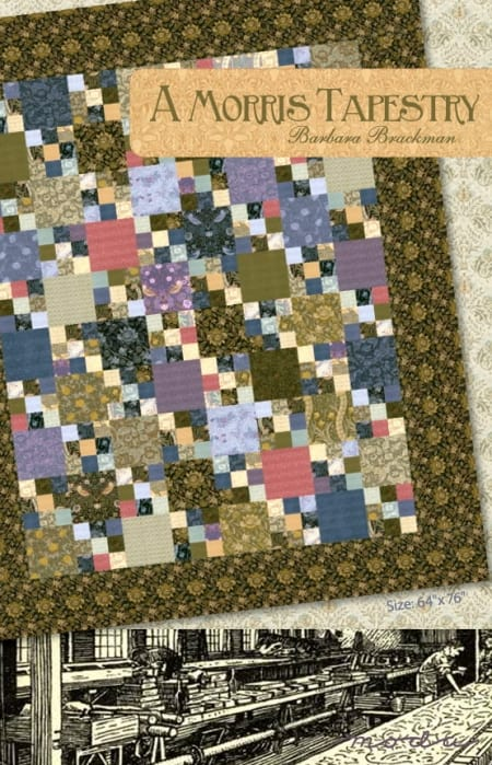 A Morris Tapestry Quilt Pattern-0