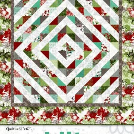 Blitzen Quilt Pattern-0