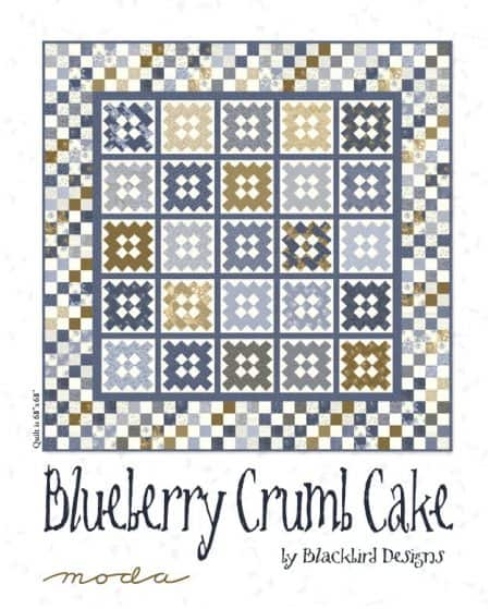 Blueberry Crumb Cake Quilt Pattern-0