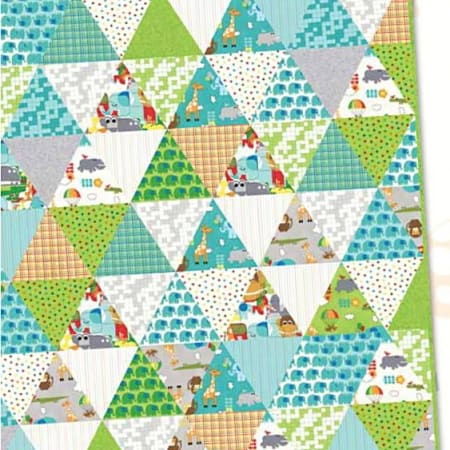 Bungle Jungle Quilt Pattern-0