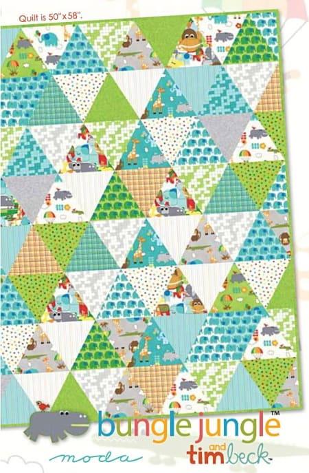 Bungle Jungle Quilt Pattern-0
