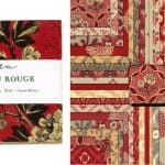 "Chateau Rouge 5"" Charm Pack-0"