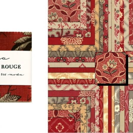 "Chateau Rouge 2.5"" Charm Pack-0"