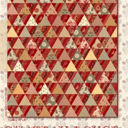 Chateau Rouge Quilt Pattern-0