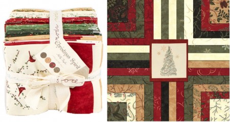 Christmas Spirit Fat Quarter Bundle-0
