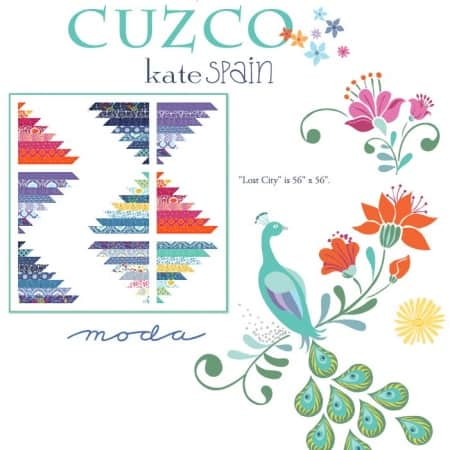 Cuzco Lost City Quilt Pattern-0