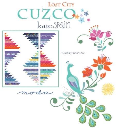 Cuzco Lost City Quilt Pattern-0