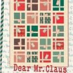 Dear Mr. Claus Quilt Pattern-0