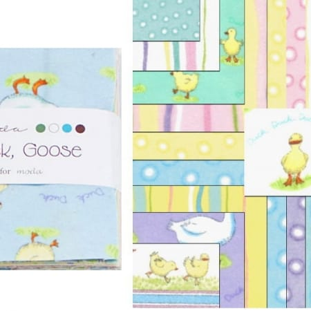 "Duck Duck Goose FLANNELS 5"" Charm Pack-0"