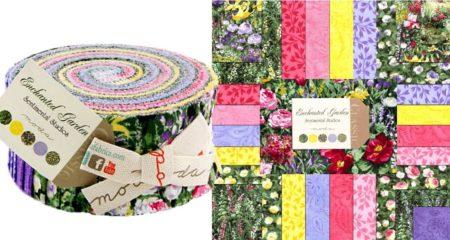 Enchanted Garden Moda Jelly Roll-0