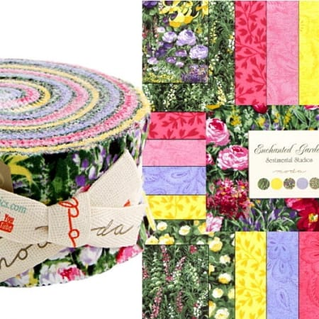 Enchanted Garden Moda Jelly Roll-0