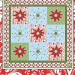 It's Snowing Quilt Pattern-0