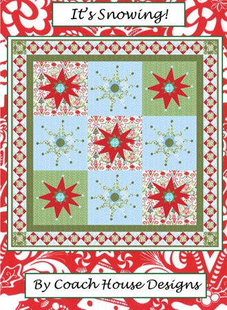 It's Snowing Quilt Pattern-0
