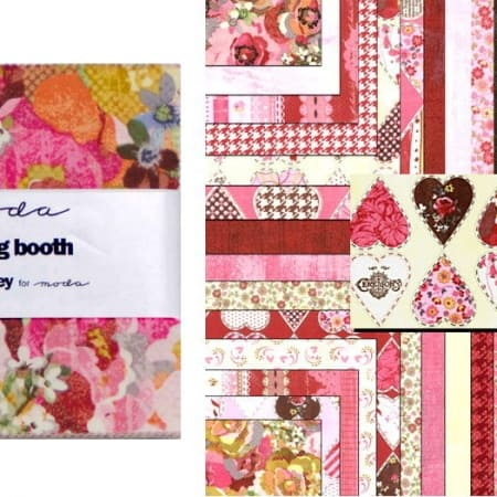 "Kissing Booth 5"" Charm Pack-0"