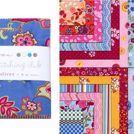 """Ladies Stitching Club 5"""" Charm Pack-0"""