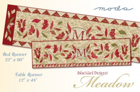 Meadow Table Bed Runner Pattern-0