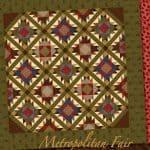 Metropolitan Fair Quilt Pattern-0